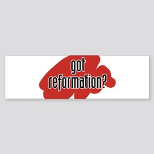 reform yourself Bumper Sticker