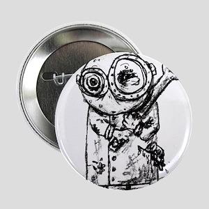 """Gribble - the best little scientist 2.25"""" Button"""
