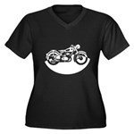 Classic Motorcycle Plus Size T-Shirt