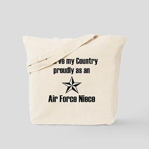 AF Niece Serve Proudly Tote Bag