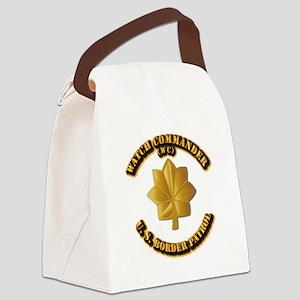 US Border Patrol - Watch CDR Canvas Lunch Bag