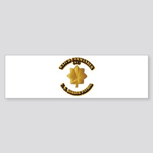 US Border Patrol - Watch CDR Sticker (Bumper)