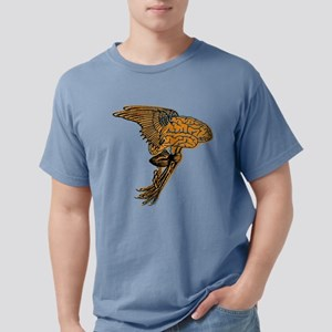 Flying Brain Creature Mens Comfort Colors Shirt