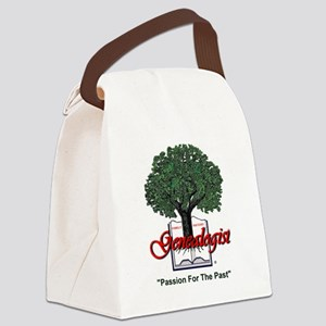 Passion For The Past Canvas Lunch Bag