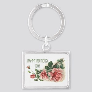 Mothers Day Roses Keychains