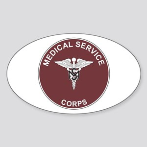 MEDICAL-SERVICE-CORPS Rectangle Sticker