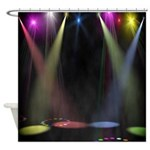 Shower Singer Shower Curtain
