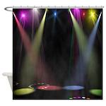 Shower Singer Shower Curtain