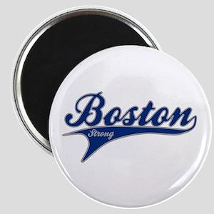 Boston Strong Ballpark Swoosh Magnet