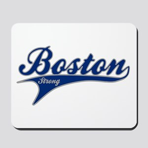 Boston Strong Ballpark Swoosh Mousepad