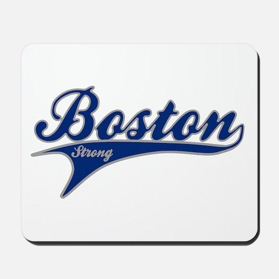 Boston Strong Ballpark Swoosh Mousepad