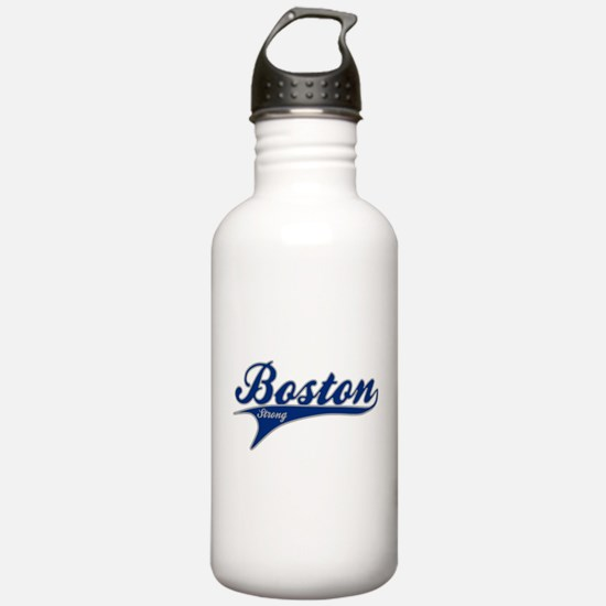 Boston Strong Ballpark Swoosh Water Bottle