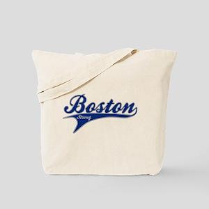 Boston Strong Ballpark Swoosh Tote Bag