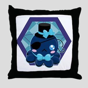 Octo-Cute Throw Pillow