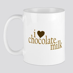 I Love Chocolate Milk Mug