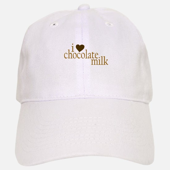 I Love Chocolate Milk Baseball Baseball Cap