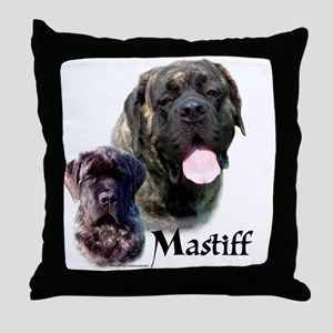 Brindle 19 Throw Pillow