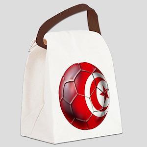 Tunisian Football Canvas Lunch Bag
