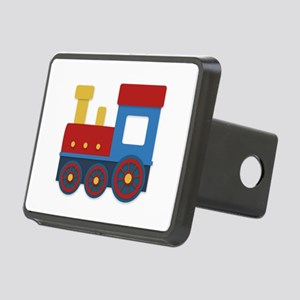 Colorful train Hitch Cover