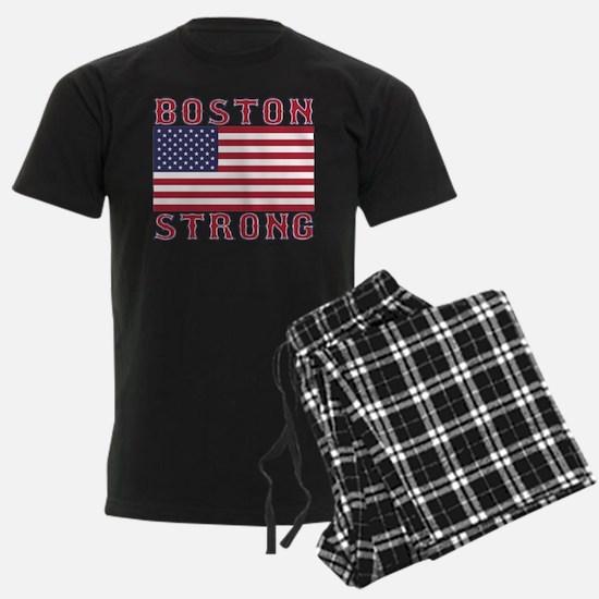 BOSTON STRONG U.S. Flag Pajamas