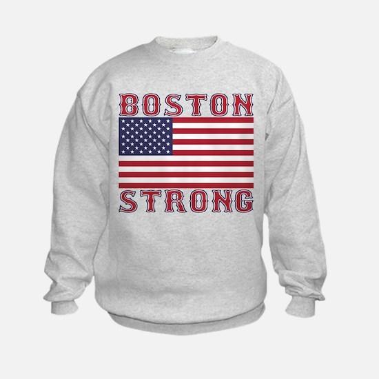 BOSTON STRONG U.S. Flag Sweatshirt