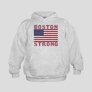 BOSTON STRONG U.S. Flag Hoodie