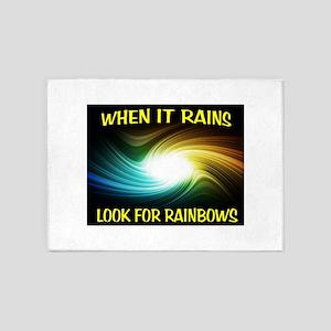 RAINBOWS 5'x7'Area Rug