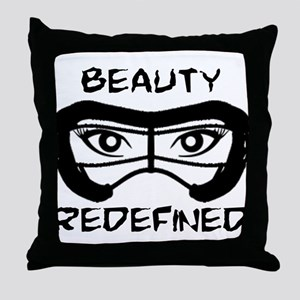 Lacrosse Beauty Redefined Throw Pillow