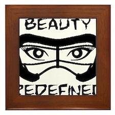 Lacrosse Beauty Redefined Framed Tile