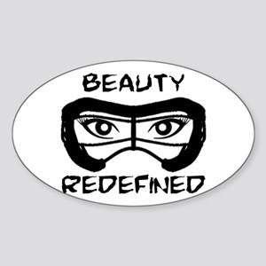 Lacrosse Beauty Redefined Sticker