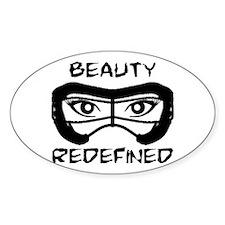 Lacrosse Beauty Redefined Sticker