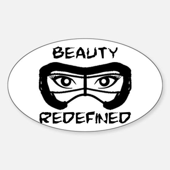 Lacrosse Beauty Redefined Decal