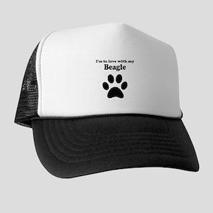 Im In Love With My Beagle Trucker Hat