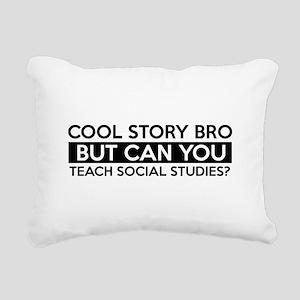 Teach Sociology job gifts Rectangular Canvas Pillo