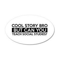 Teach Sociology job gifts Wall Decal
