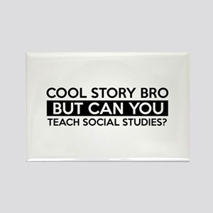 Teach Sociology job gifts Rectangle Magnet