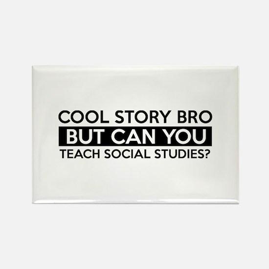 Teach Sociology job gifts Rectangle Magnet