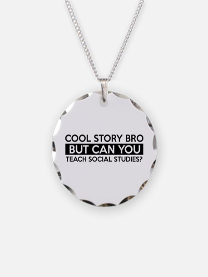 Teach Sociology job gifts Necklace