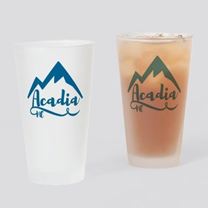 Acadia Maine Drinking Glass