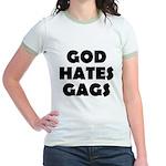 God Hates Gags Jr. Ringer T-Shirt