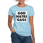 God Hates Gags Women's Pink T-Shirt
