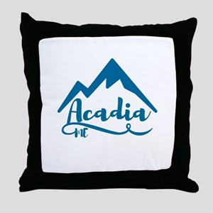 Acadia Maine Throw Pillow