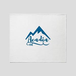 Acadia Maine Throw Blanket