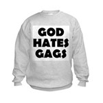 God Hates Gags Kids Sweatshirt