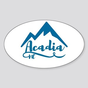 Acadia Maine Sticker