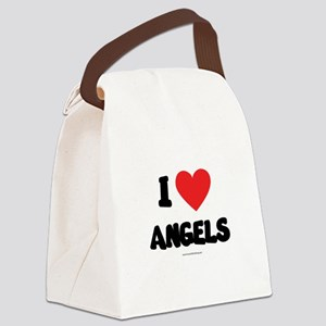 I Love Angels - LDS Clothing - LDS T-Shirts Canvas