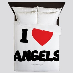 I Love Angels - LDS Clothing - LDS T-Shirts Queen