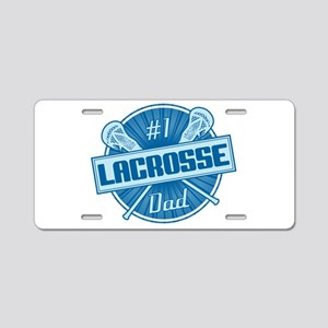 # Lacrosse Dad Aluminum License Plate