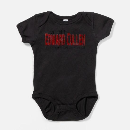 edward creepy.png Baby Bodysuit