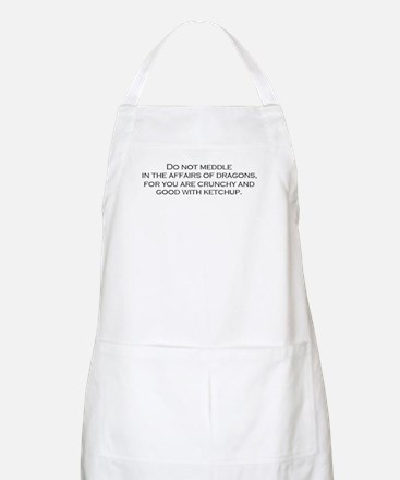 Leave the Dragons Alone BBQ Apron